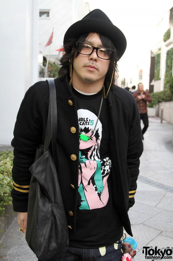Revolver jacket and Cool Cats t-shirt