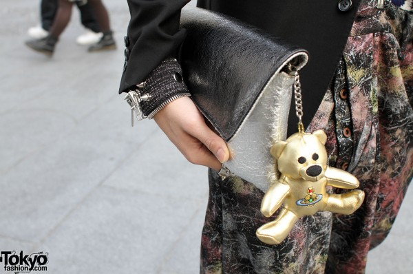 Vivienne Westwood Bag with Golden Bear
