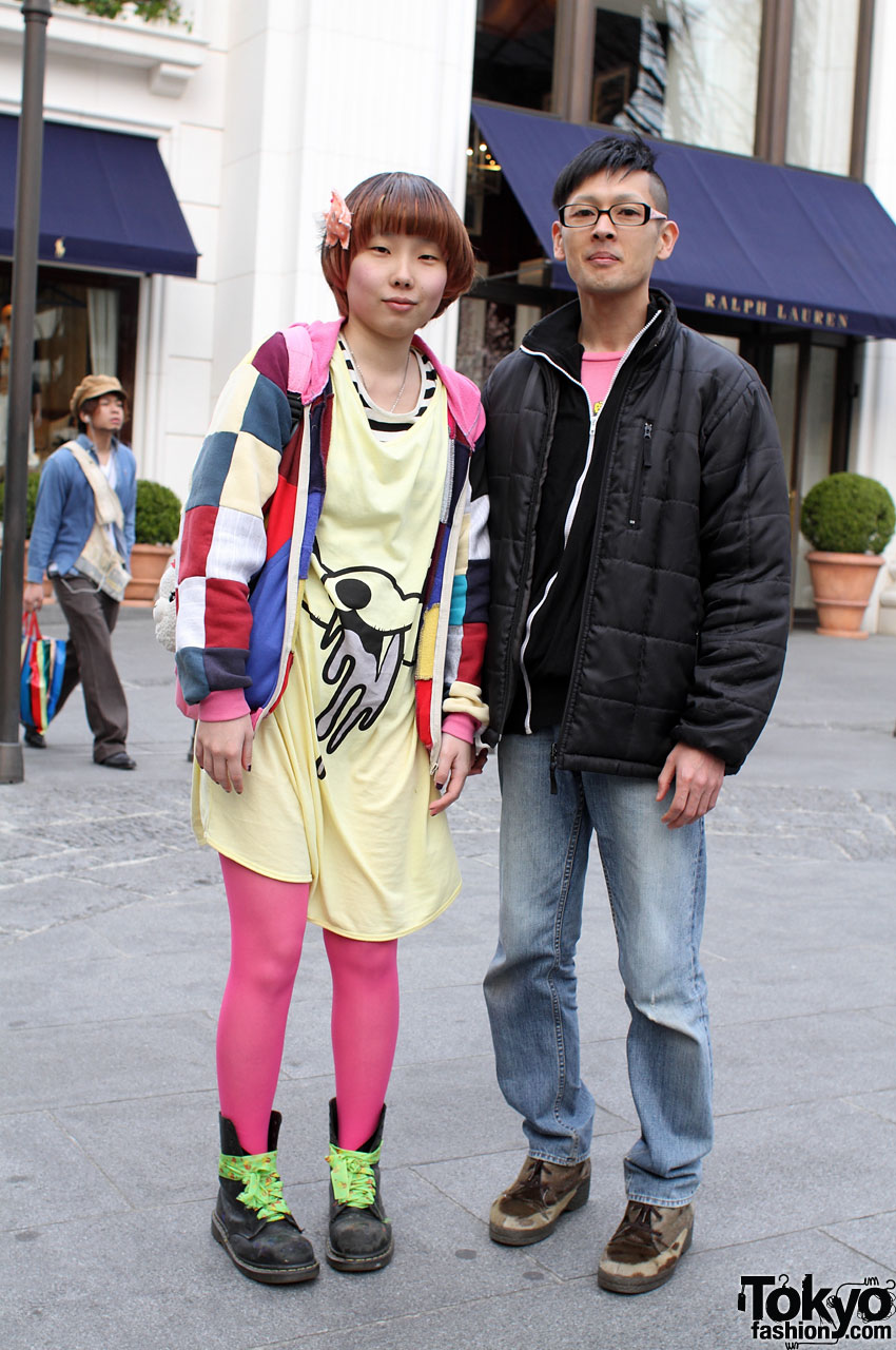 Pink Tights, Long WEGO Shirt & Romantic Standard