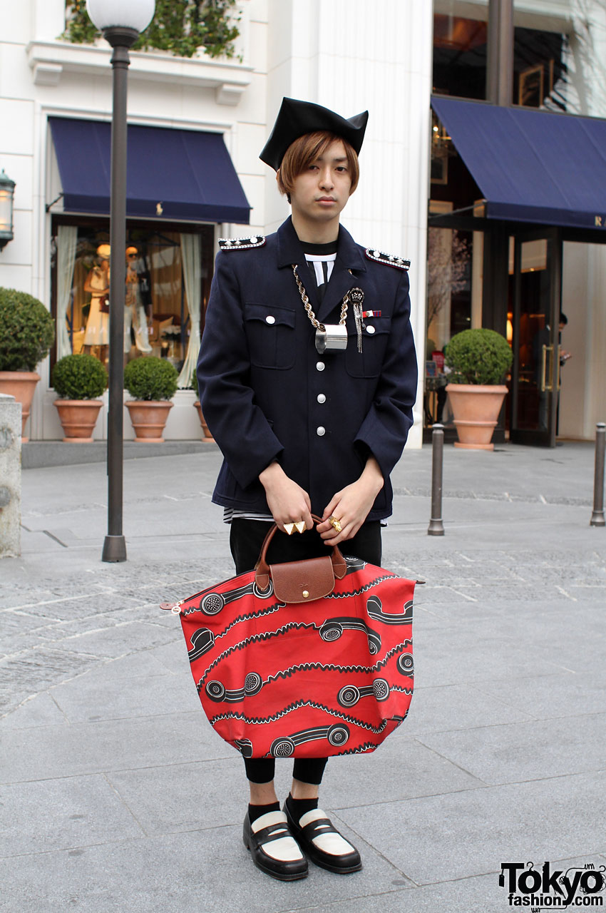 Military Jacket, Sunao Kuwahara and Marc Jacobs Accessories