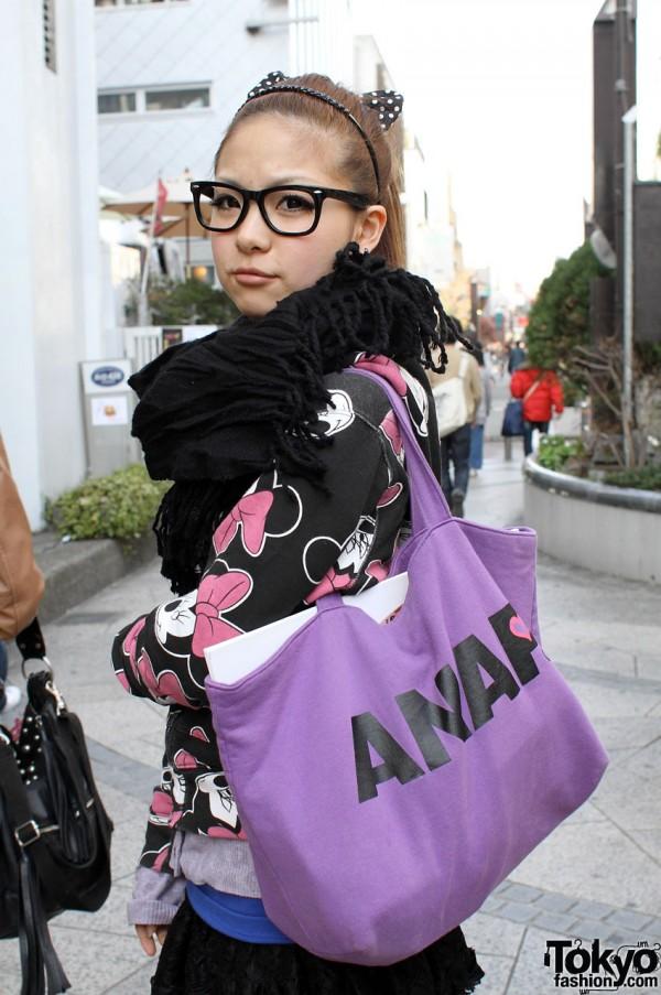 Purple ANAP bag