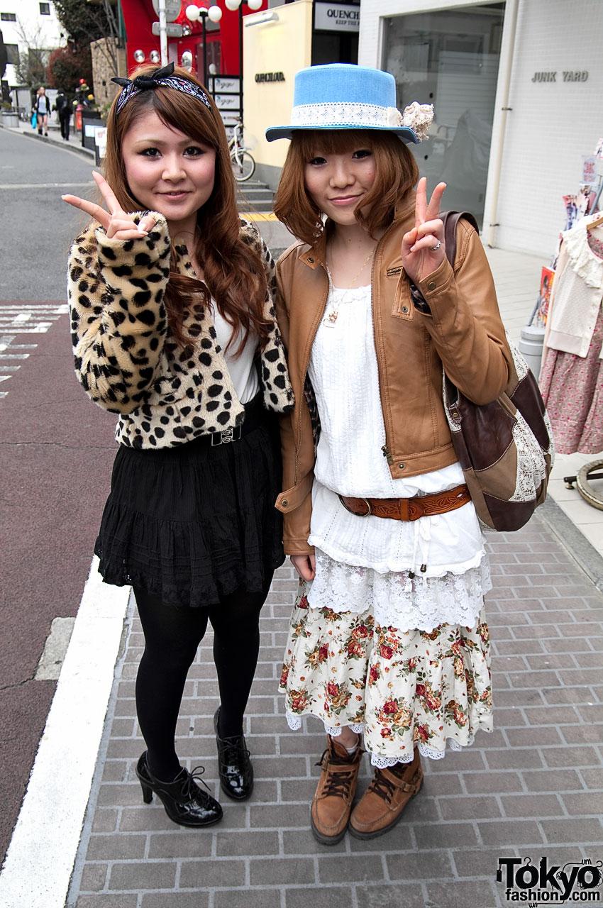 Cheetah Print & Leather Jacket