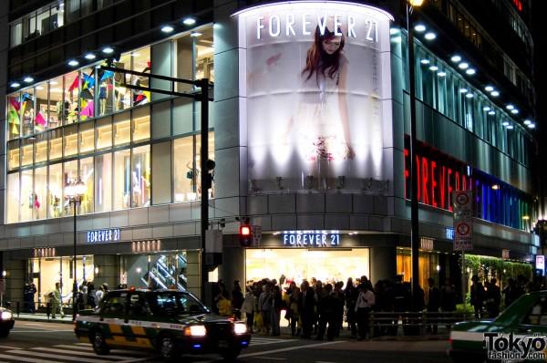 Forever 21 Shinjuku Grand Opening