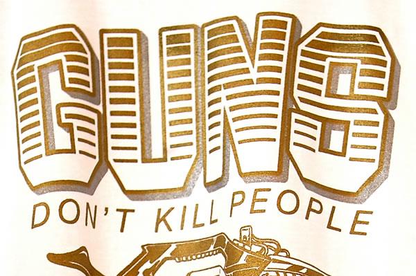Guns Don't Kill People Lazers Do