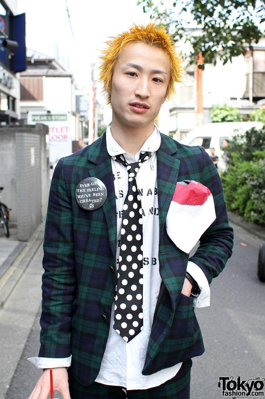 666 Retro Punk Japanese Street Style In Harajuku