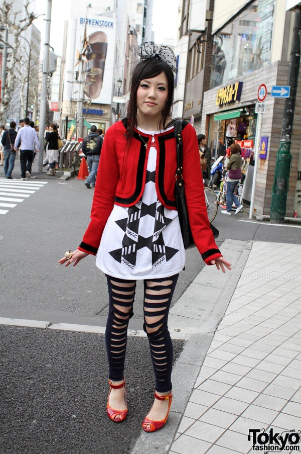 Galaxxxy Style, Hair Bow & Q-pot Jewelry in Harajuku