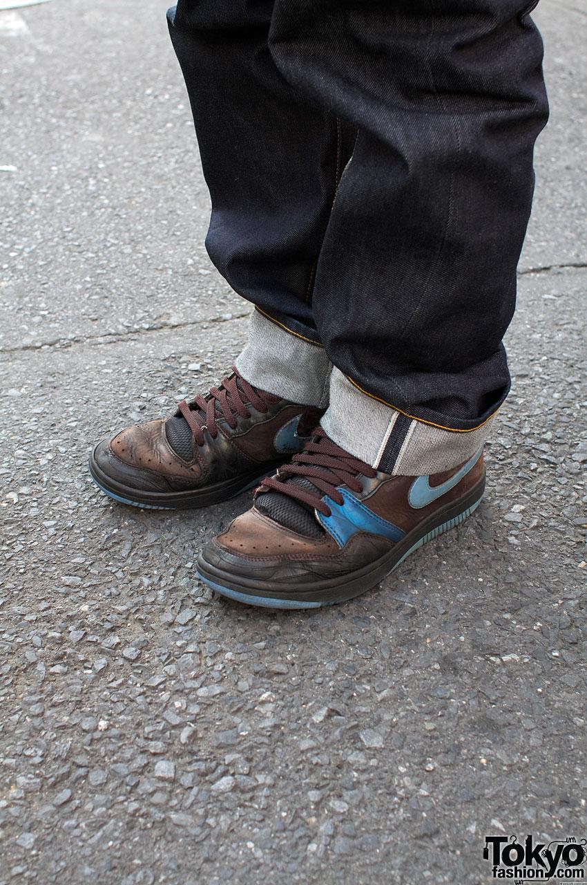 Black Sweatshirts Cuffed Jeans Amp Green Dr Martens