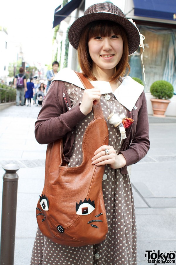 Cute purse with face from Tas
