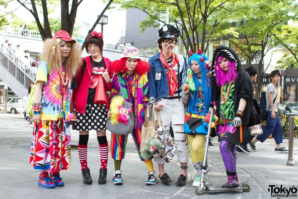 Harajuku Street Fashion