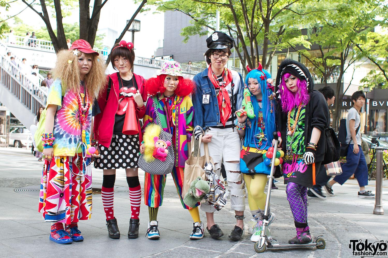 Super-Cute & Colorful Harajuku Street Fashion – Tokyo Fashion