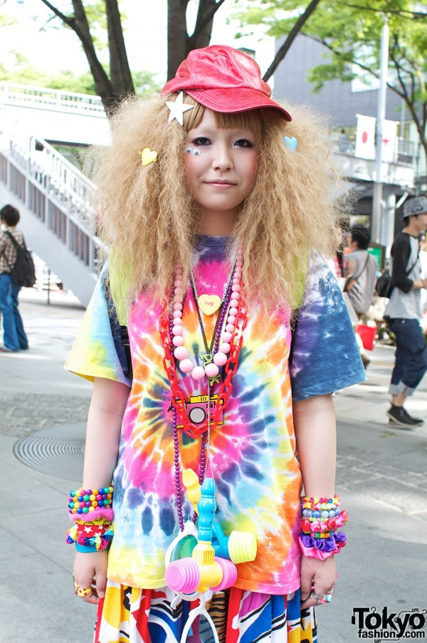 Colorful Harajuku Girl