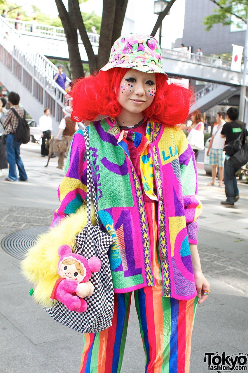 Super-Cute & Colorful Harajuku Street Fashion