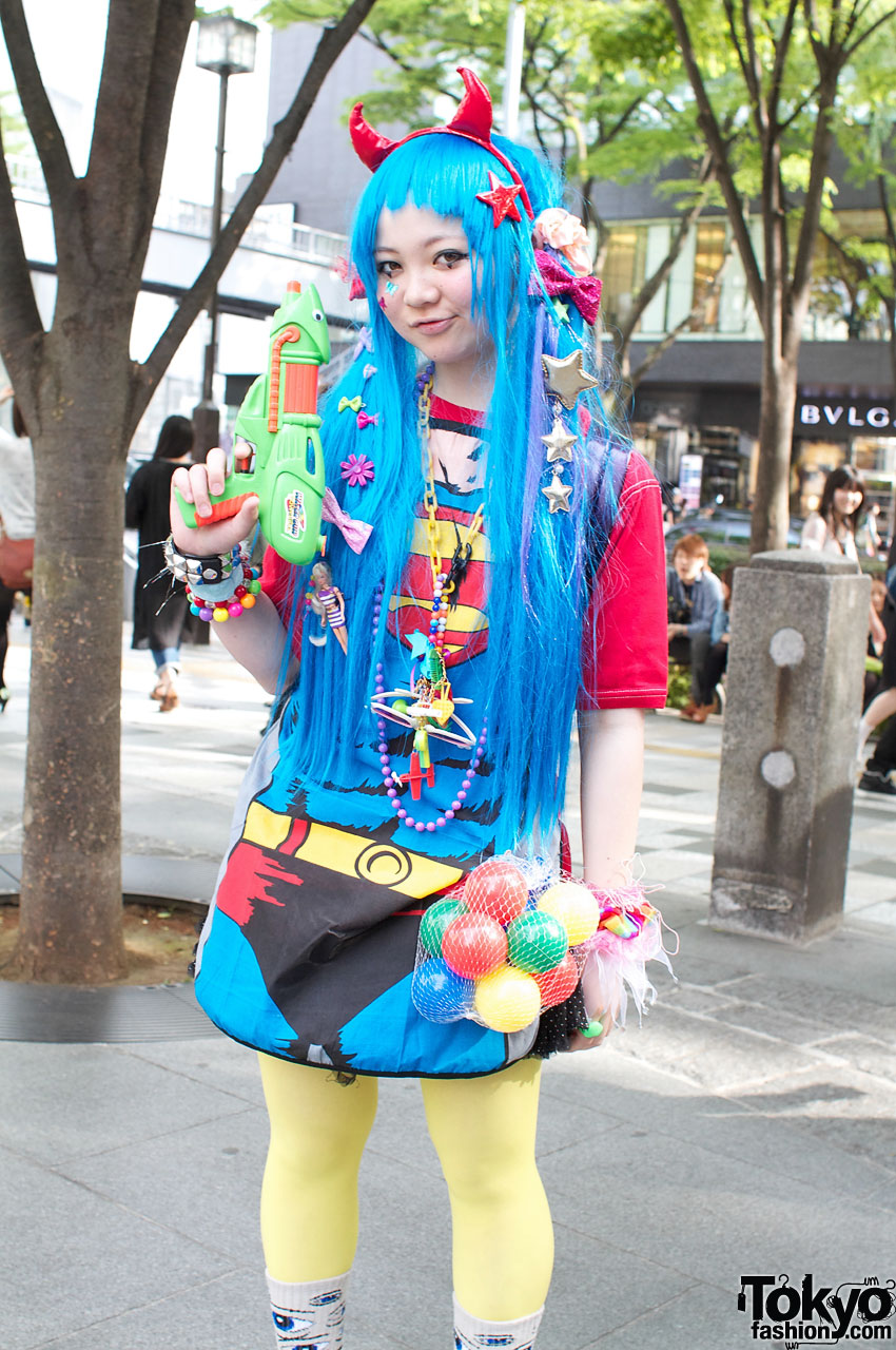 Super Cute Amp Colorful Harajuku Street Fashion