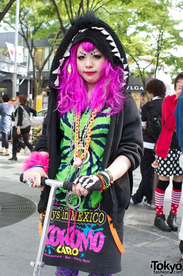 Colorful Harajuku Fashion