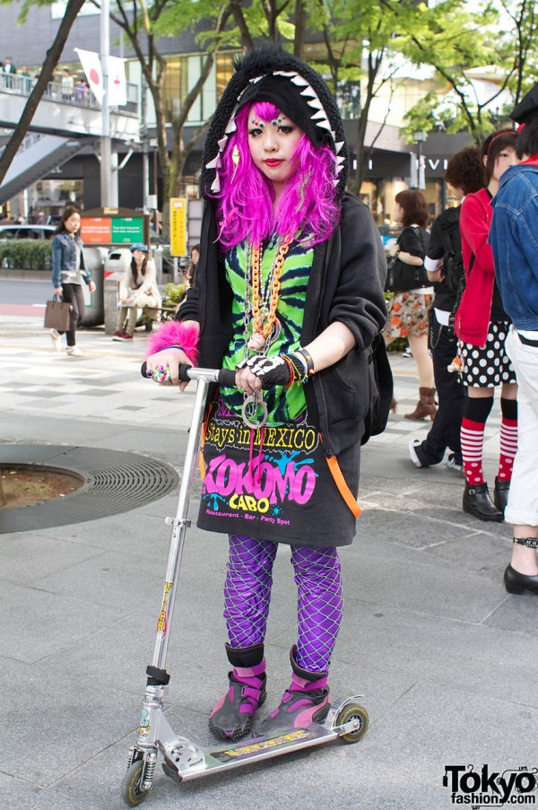 Super Cute Colorful Harajuku Street Fashion