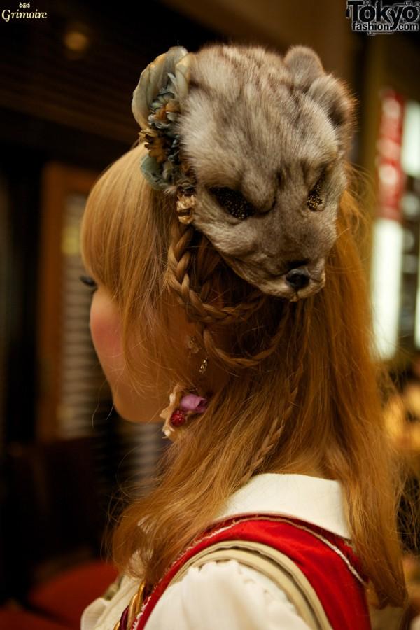 Fur Hat at the Grimoire Party