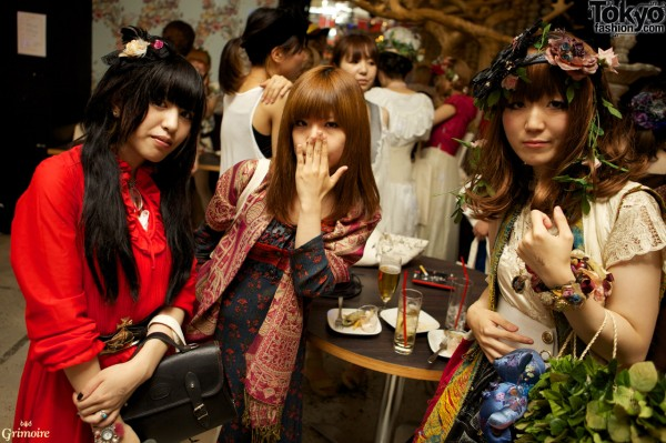 Grimoire Tokyo 2nd anniversary party.