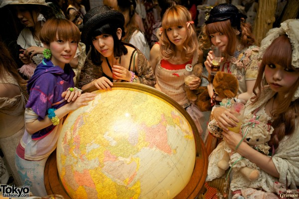 Grimoire Dolly Kei Party in Tokyo.