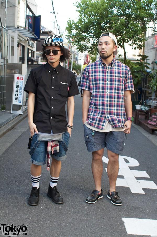 Mackdaddy Shirts & Parker Shorts in Harajuku