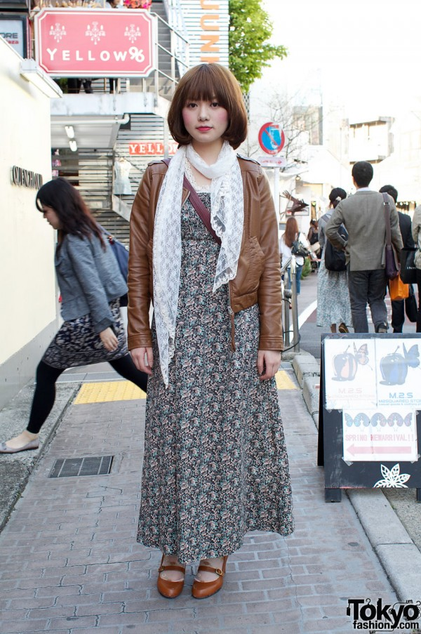 Japanese Student in Grimoire and Mysty Woman