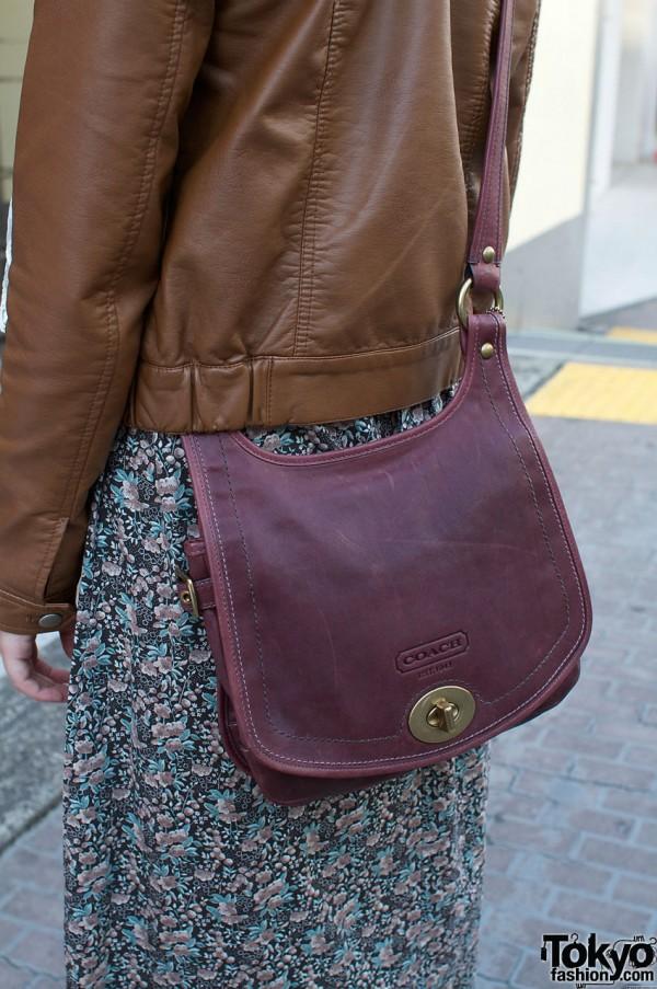 Violet Coach bag