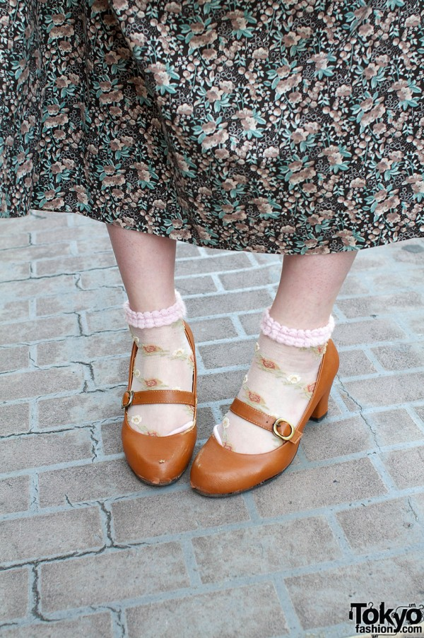Mary Jane shoes from Crip with ankle socks
