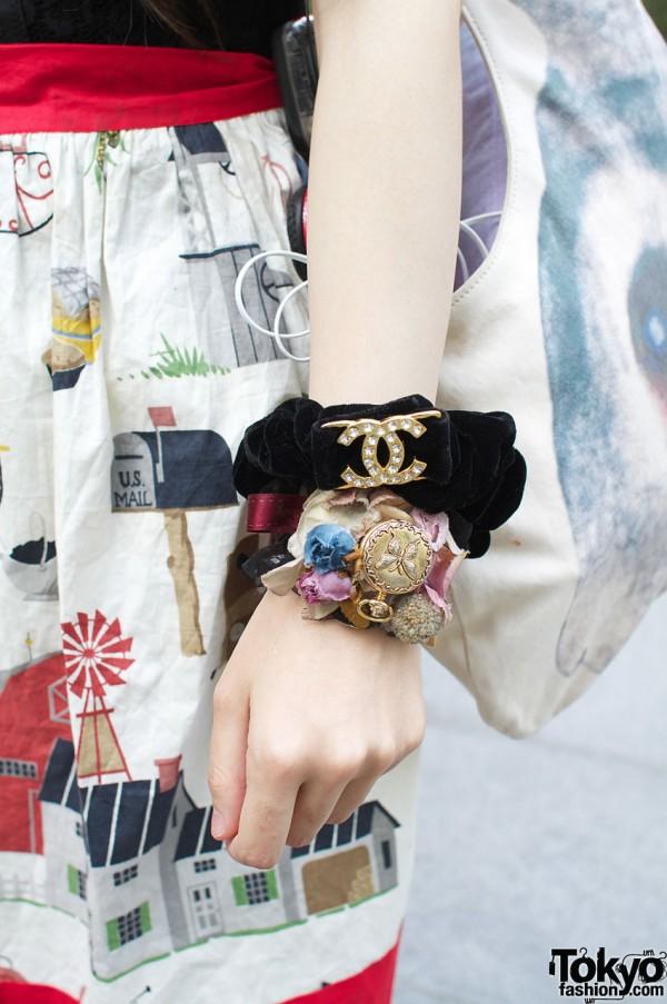 Grimoire vintage bracelets