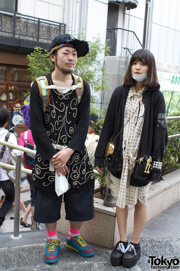 Japanese couple with styles from Hayatochiri & Dog