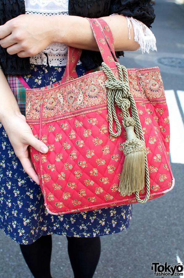 Cult Party vintage bag with tassel