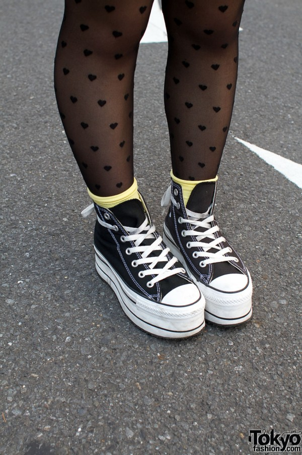 Platform sneakers from Nadia Flores en el Corazon