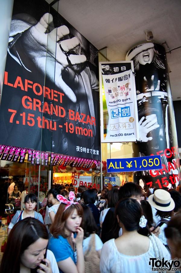 LaForet Harajuku Grand Bazar Summer 2010