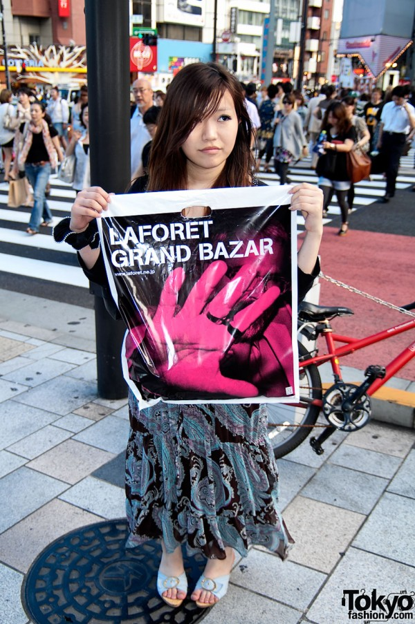 LaForet Harajuku Grand Bazar Shoppers