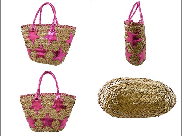 Cute Japanese Straw Handbag