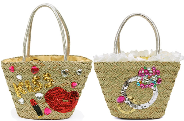 Japanese Straw Handbags