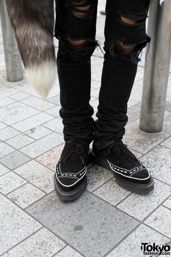 Ksubi jeans & George Cox shoes