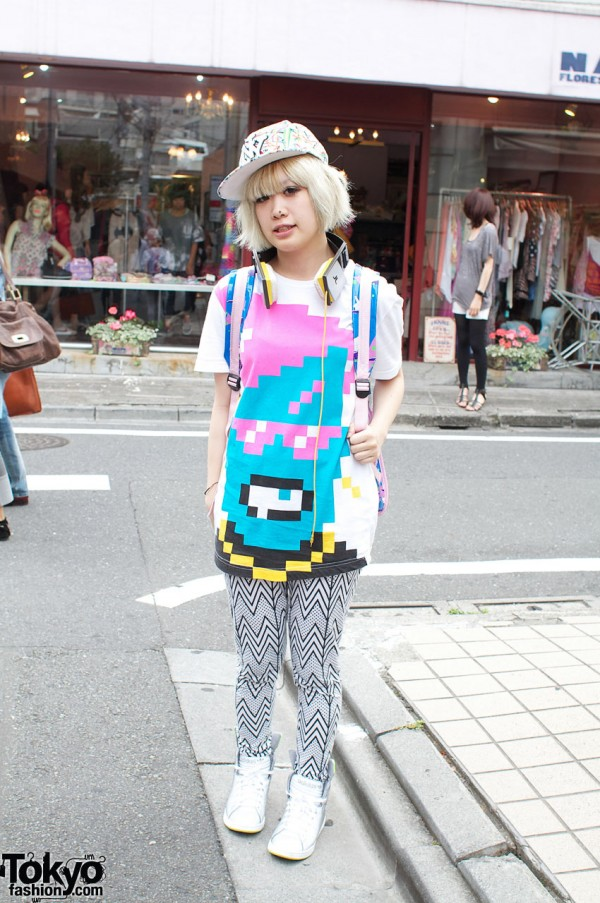 Panuu T-Shirt & NY Cap