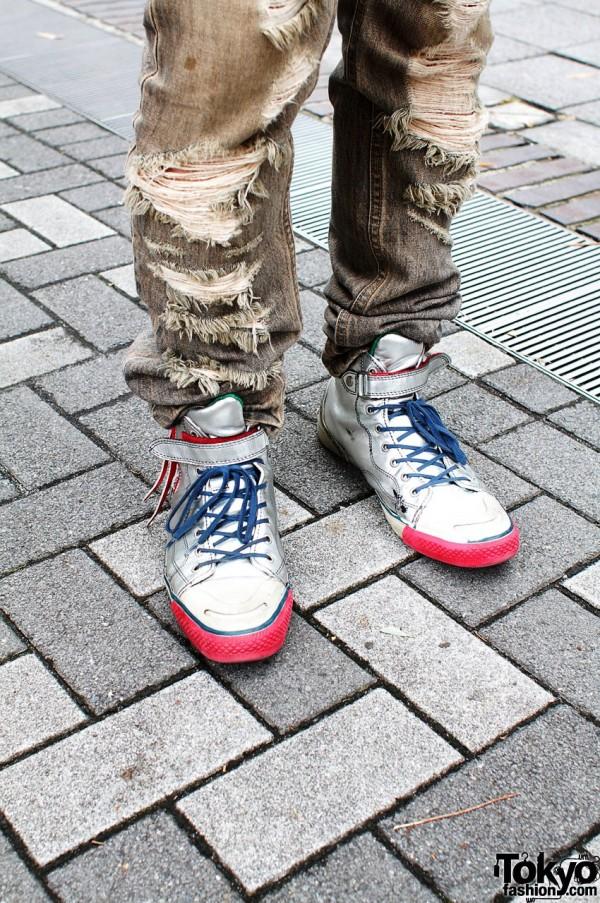 Alfredo Bannister shoes & Pledge jeans