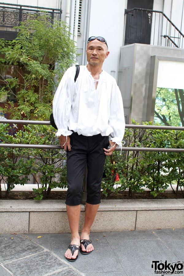 Carlo Pignatelli Designer Style in Harajuku