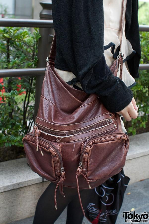 Resale bag & cardigan