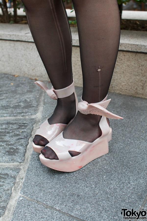 Vivienne Westwood x Melissa Winged Rocking Horse shoes