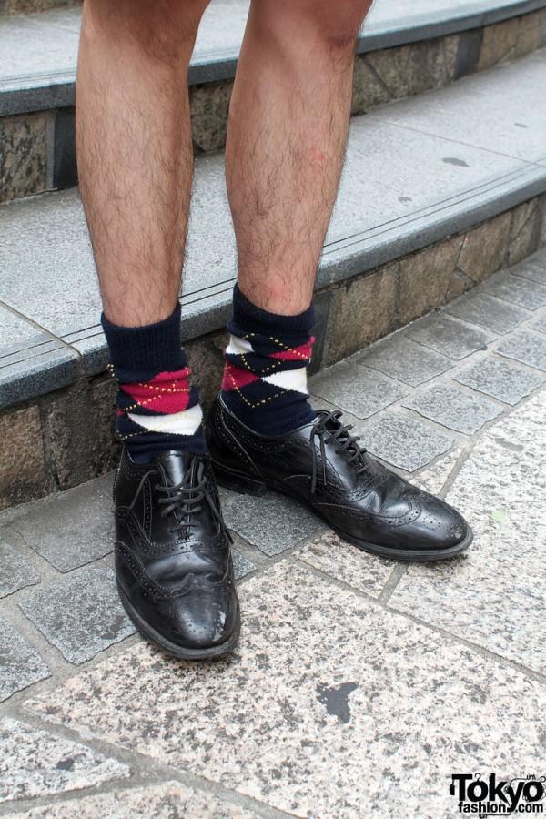 Argyle socks & wingtips
