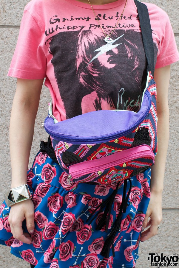 Mercibeucoup bag & Candy Stripper skirt