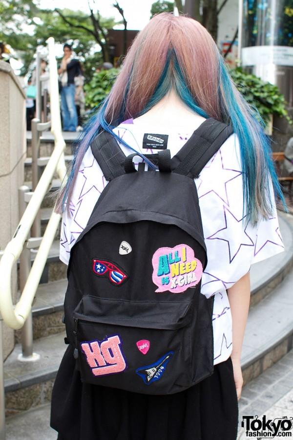 X-Girl back pack