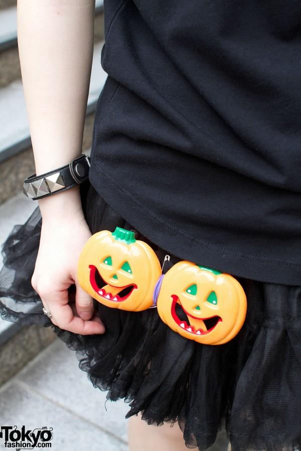 Halloween Jack-o-Lantern pins