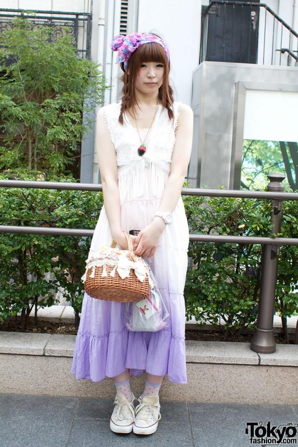 Isbit Dress & Honey Salon Basket