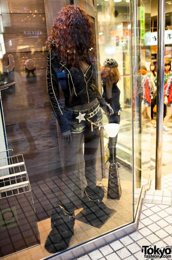 Fur Boots at Shibuya 109