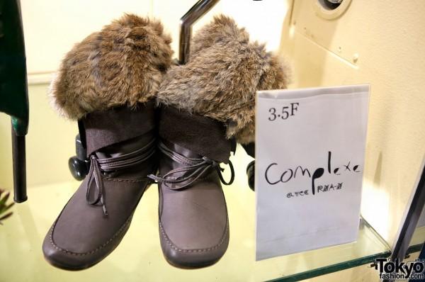 353fb9b5fb4f6 Tokyo Fashion Trend  Fur Boots   Furry Leg Warmers