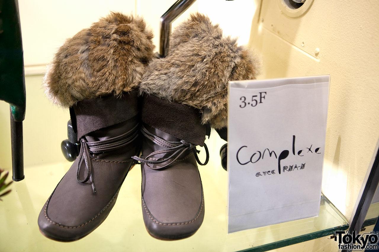 Fur Boots in Tokyo