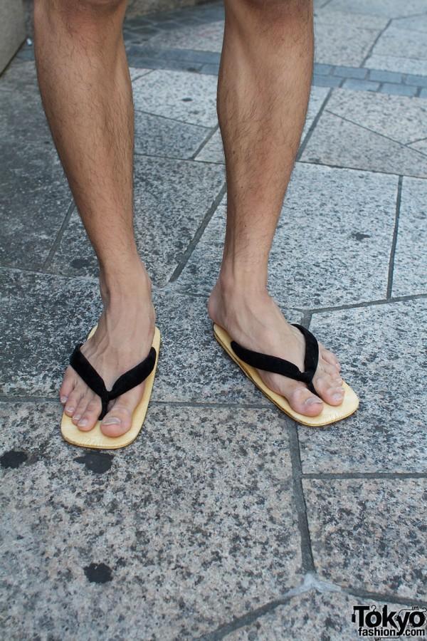 Japanese seta sandals