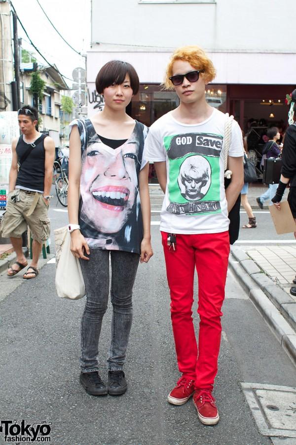 H&M Skinny Pants & G-Shock Minis